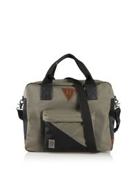 DIESEL | Green M-slash Duffle for Men | Lyst