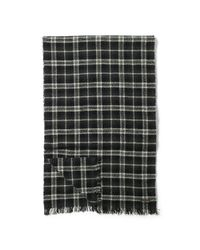 Polo Ralph Lauren - Gray Cashmere Buffalo Plaid Scarf - Lyst