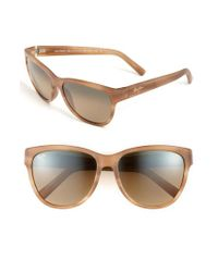 Maui Jim - Brown 'ailana' 57mm Sunglasses - Lyst