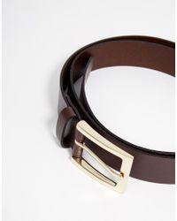 ASOS   Multicolor Smart Leather Belt 3 Pack Save 17% for Men   Lyst