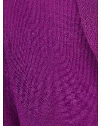 Phase Eight - Purple Shawl Collar Bolero - Lyst