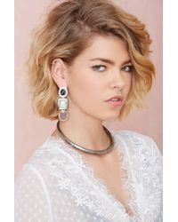 Nasty Gal | Metallic From St. Xavier Madrid Earrings | Lyst
