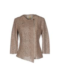 Vintage De Luxe - Natural Jacket - Lyst