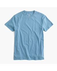 J.Crew | Blue Slim Broken-in T-shirt for Men | Lyst