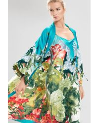 Natori - Multicolor Birds Of Paradise Robe - Lyst