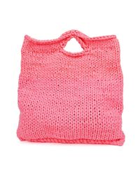 Wool And The Gang | Pink Zigazig Shopper | Lyst