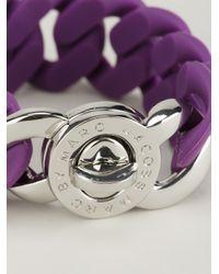 Marc By Marc Jacobs | Purple 'katie' Bracelet | Lyst