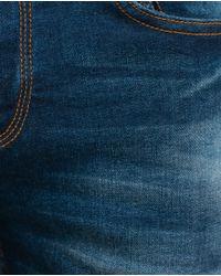 Zara   Blue Skinny Jeans for Men   Lyst