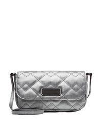 Marc By Marc Jacobs | Metallic Monica Cross-body Bag - Silver | Lyst