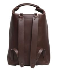 Bonastre | Brown Vegetable Tanned Leather Backpack for Men | Lyst