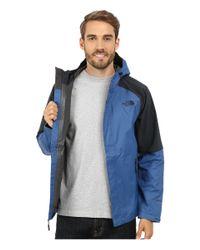 The North Face - Blue Venture Hybrid Jacket for Men - Lyst