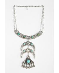 Vanessa Mooney - Metallic Into The Mystic Silver Necklace - Lyst