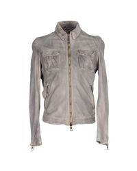 Meatpacking D - Gray Jacket for Men - Lyst