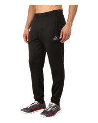 Adidas Originals   Black Ultimate Fleece Tapered Pants for Men   Lyst