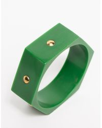 Need Supply Co. | Green Gemma Bangle | Lyst