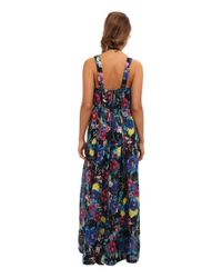 Seafolly | Black Rumour Maxi Cover Up | Lyst