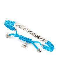 Lagos | Blue Macrame Caviar Bracelet Turquoise | Lyst