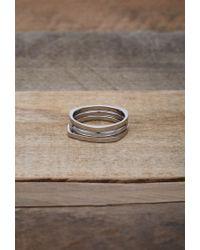 Forever 21 - Metallic Men Vitaly Shapes Ring Set for Men - Lyst