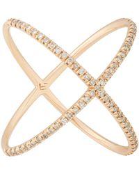 Eva Fehren | Pink X Ring Size 7 | Lyst