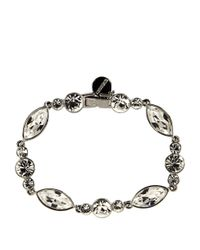 Givenchy | Metallic Crystallized Flex Bracelet | Lyst