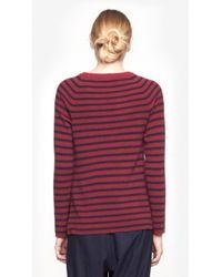 Equipment - Red Lucien Crewneck Sweater - Lyst