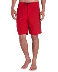 Helly Hansen - Red Hh Logo Swim Shorts for Men - Lyst