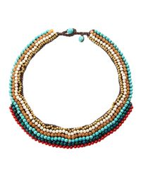 Nakamol - Multicolor Beaded Necklace - Lyst