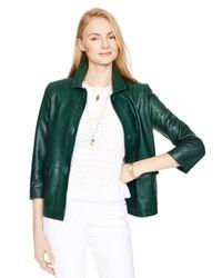 Kate Spade | Green Alivia Jacket | Lyst