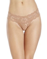Cosabella - Brown Never Say Never Cutie Low Rider Thong - Lyst