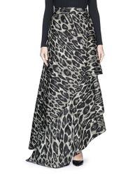Lanvin   Gray 3/4 Length Skirt   Lyst