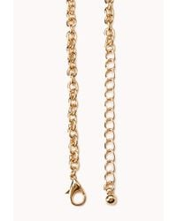 Forever 21 - Pink Bold Bauble Bib Necklace - Lyst