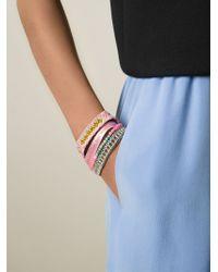 Hipanema - Blue 'mauritius' Bracelet - Lyst