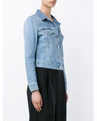 Acne Studios - Blue Denim Jacket - Lyst