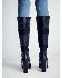 Free People | Black Jeffrey Campbell + Womens Mariana Knee Boot | Lyst