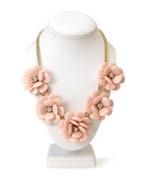Forever 21 | Pink Kitschy Floral Necklace | Lyst