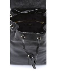 Tory Burch - Black All T Backpack - Lyst