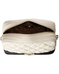 Love Moschino | White Quilted Square Crossbody Bag | Lyst