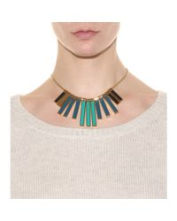 Marc By Marc Jacobs - Green Stick Bib Necklace - Lyst
