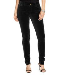 Lauren by Ralph Lauren | Black Plus Straight-leg Skinny Pants | Lyst