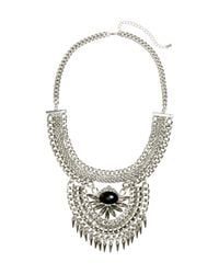 H&M | Metallic Short Necklace | Lyst