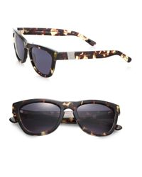 Westward Leaning - Brown Mercury Seven Square Acetate Sunglassestokyo Tortoise - Lyst