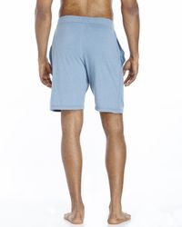 Kenneth Cole - Blue Drawstring Lounge Shorts for Men - Lyst
