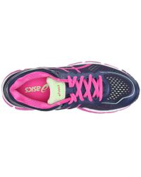 Asics | Pink Gel-kayano 22 Women D Round Toe Synthetic Blue Running Shoe | Lyst