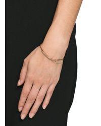 Mango - Brown Combi Double Bracelet - Lyst