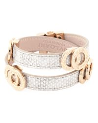 BVLGARI | Metallic Double Coiled Wrap Bracelet | Lyst
