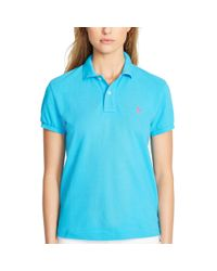 Polo Ralph Lauren | Blue Classic-fit Polo Shirt | Lyst