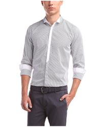 BOSS Orange - Blue Slim-fit Casual Shirt 'emistere' In Cotton for Men - Lyst