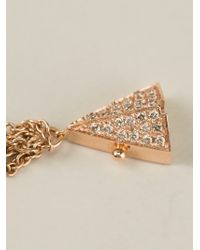 Elise Dray - Metallic Hand Bracelet - Lyst
