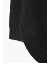 Mango - Black Turtle Neck Sweater - Lyst