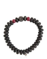 Ocnarf Sairutsa - Red Rock And Raw Bracelet - Lyst